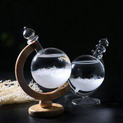 Creative Weather Forecast Bottle Earth Storm Table Decoration -