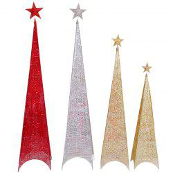 Iron Four Feet Christmas Pyramid Tree 60cm -