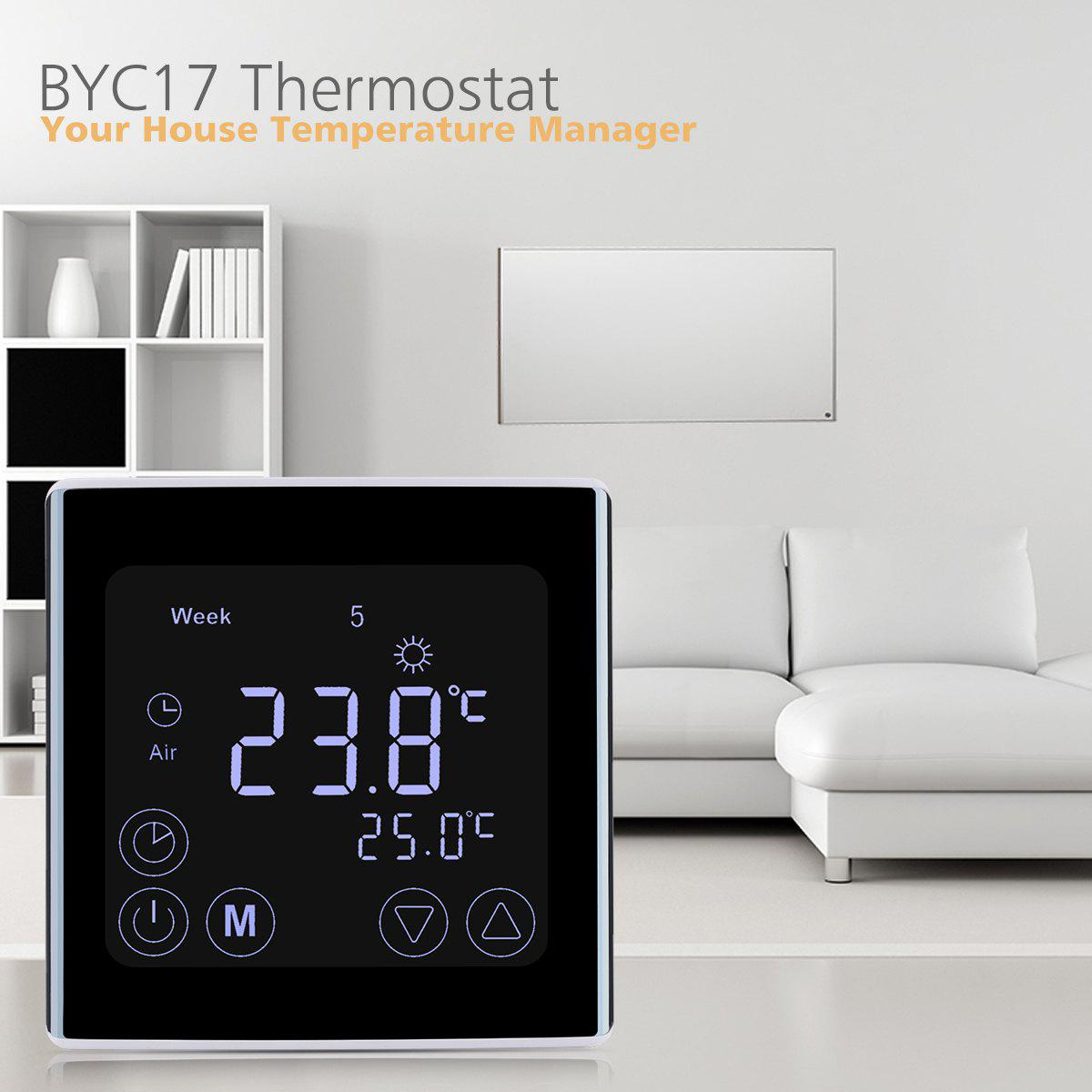 Floureon C17,GH3 LCD Thermostat d'Affichage
