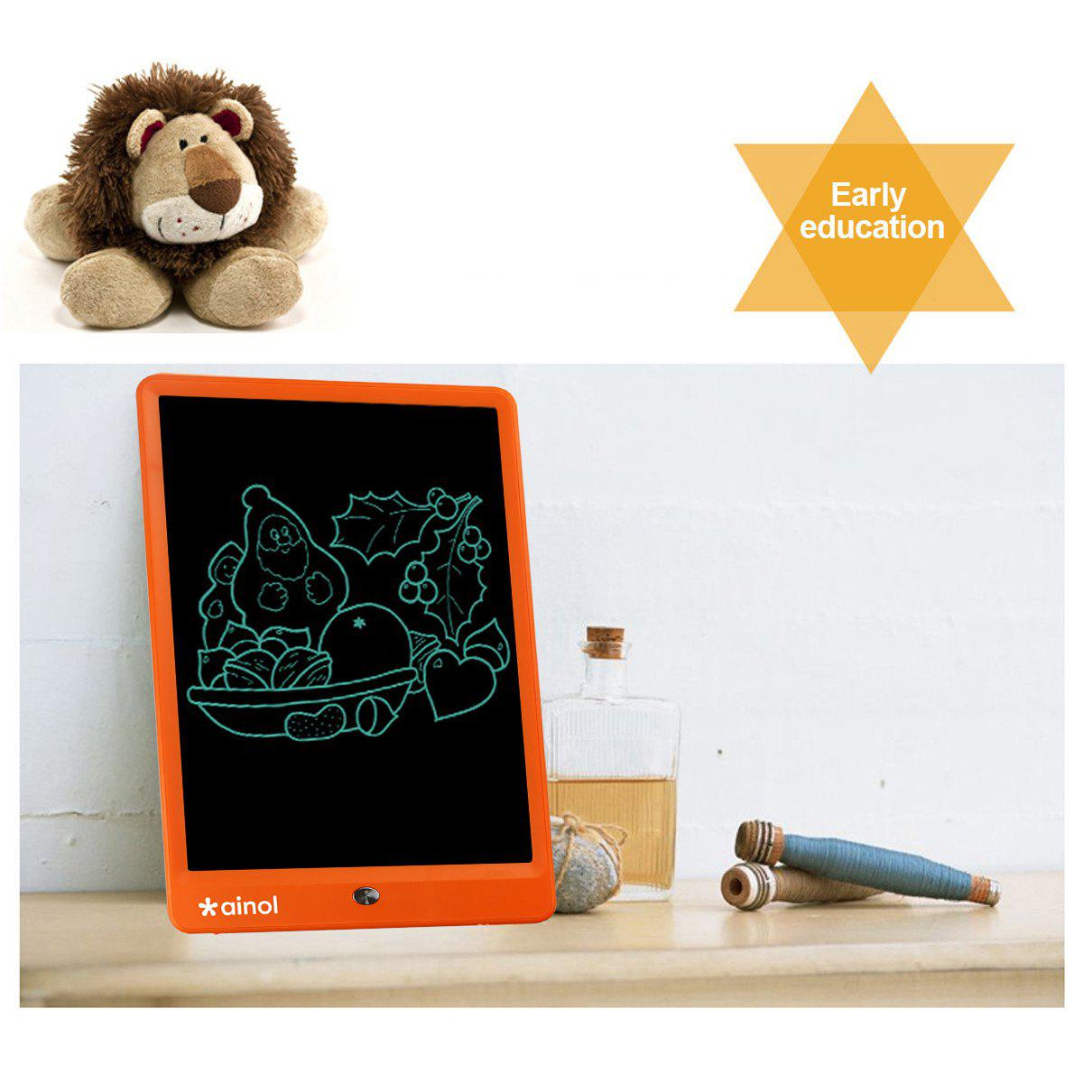 Affordable Ainol A1001 10 Inch Electronic Writing Board with LCD Screen----Orange
