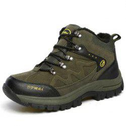 Men's Winter Fur Anti-skidding Trekking Hiking Shoes -