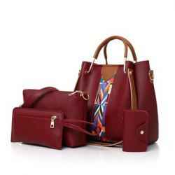 Fashion Lady Color PU Bag -