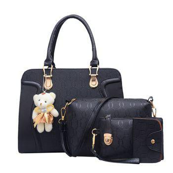 Unique Four-piece Set Shoulder Bag Handbag