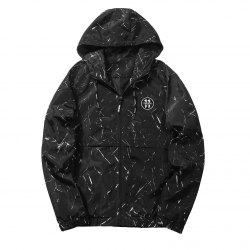 Autumn Winter Jacket Sports Outdoor Coat Thin Windproof Clothes for Men -