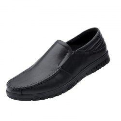Men's Breathable Leather Shoes -