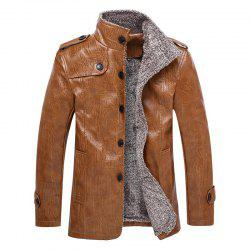 Furs Thickened Fur Jackets for Men -