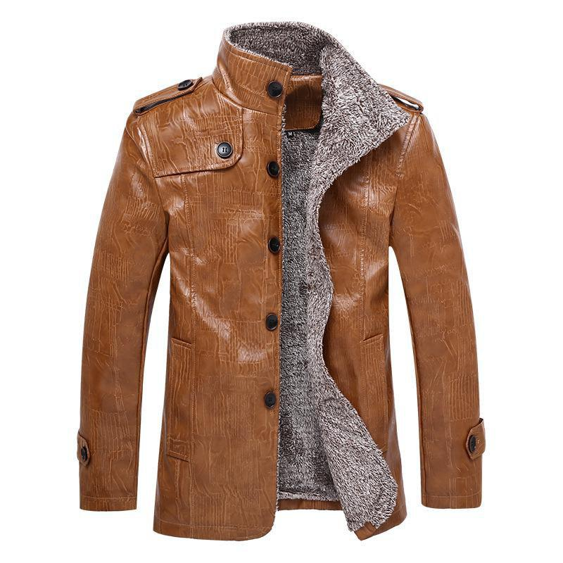 Unique Furs Thickened Fur Jackets for Men