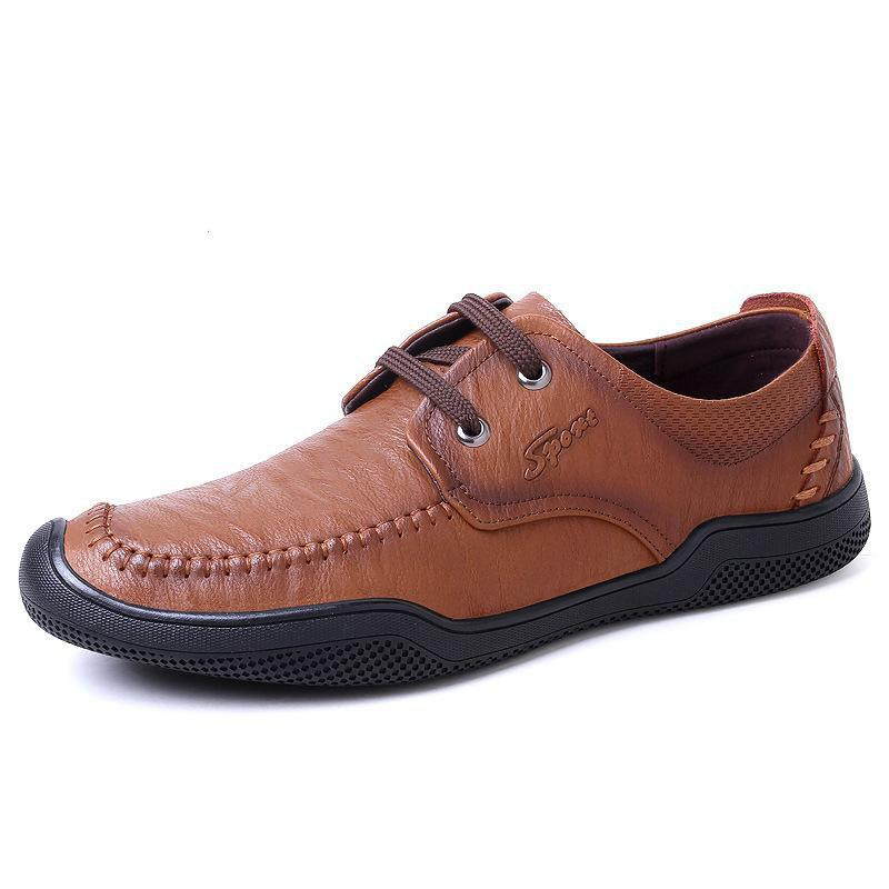 New Fashion Men's Casual Leather Shoes