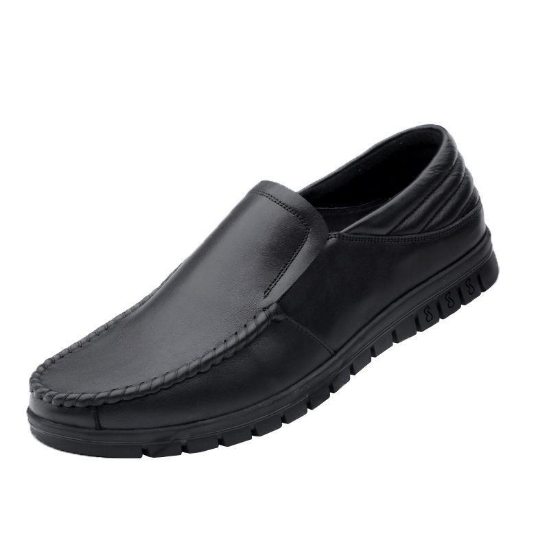 New Men's Breathable Leather Shoes