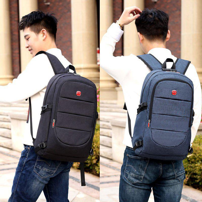 Sale USB Military Multifunctional Laptop Backpack Swiss Army Schoolbag Travel Bag