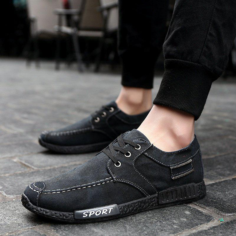 Outfit Breathable Casual Male Shoes Student Comfy Sneakers