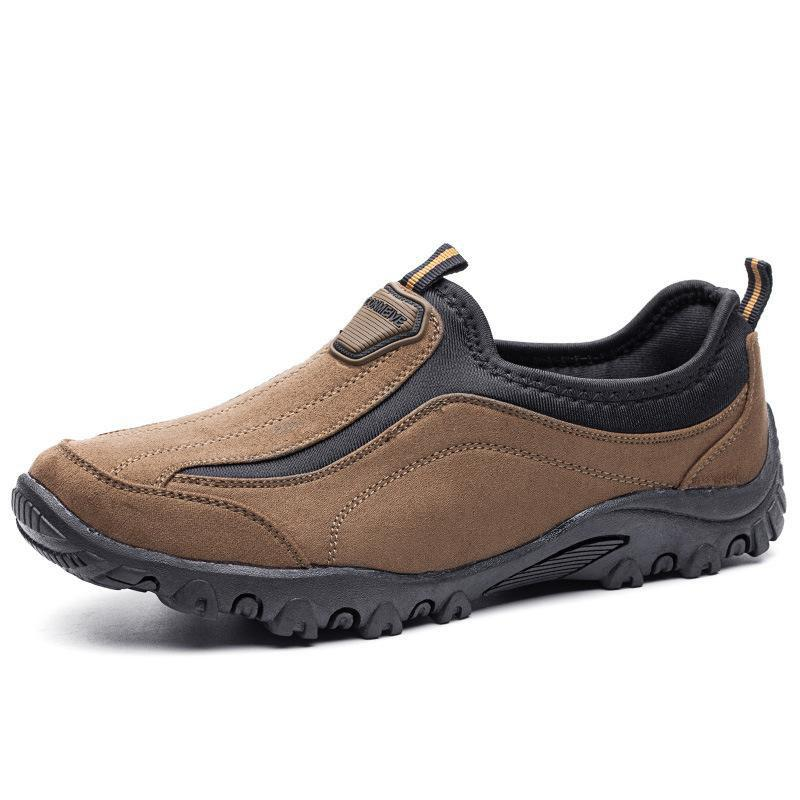 Discount Male Light Outdoor Lazy Non-slip Casual Shoes