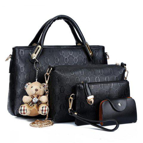 aa59676d7dca PU Leather Handbags Composite Shoulder Bag for Women