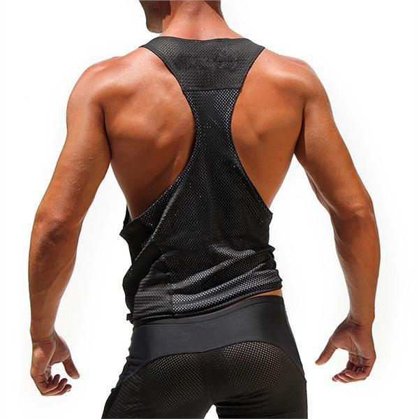 Trendy Bodybuilding Vest Comfortable  Sleeveless Tank Tops