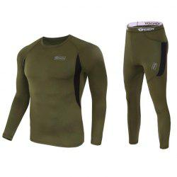 Outdoor Leisure Sports Breathable Thermal Underwear -
