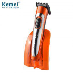 Kemei KM-607A Household Hair Clipper Rechargeable Hair Clipper Shaving Beard Hair Clipper -