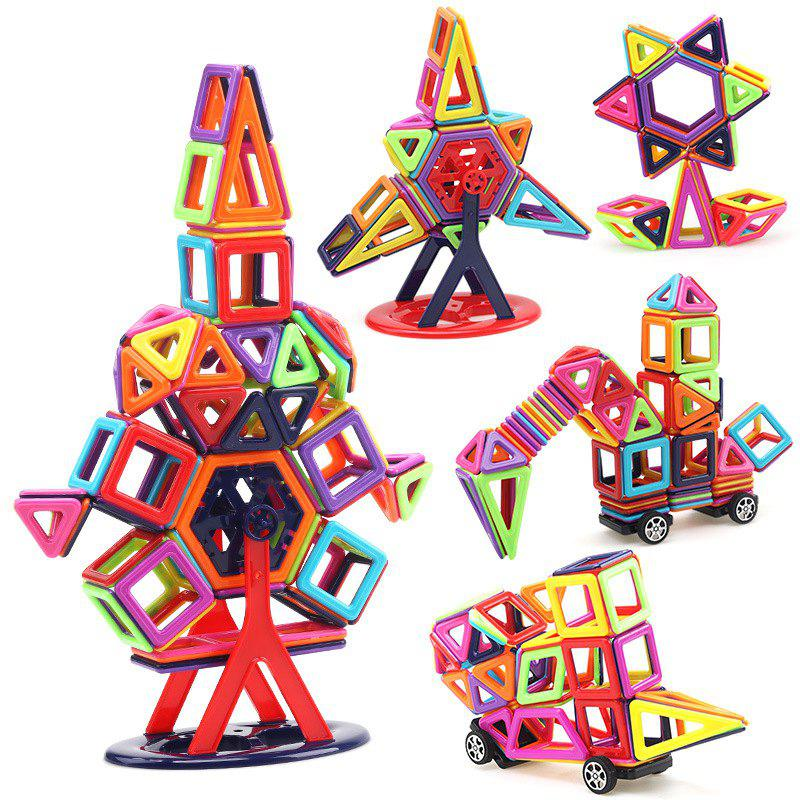 Magnetic Piece Building Blocks Change Pulling Magnetic Piece Дети DIY Puzzle Set Toy