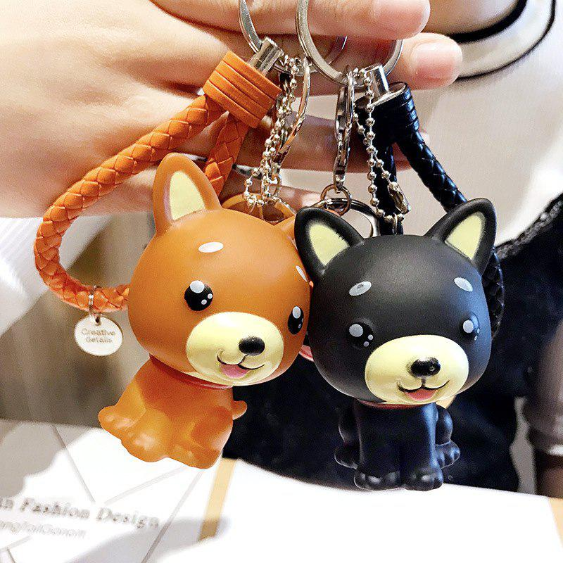 Cheap Creative Cartoon Shiba Inu Law Dog Keychain Men And Women Bags Pendant Car Ornaments Student Gifts