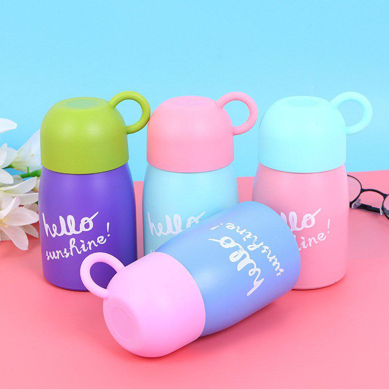Affordable Hot Explosions Stainless Steel Vacuum Flask Fashion Convenient Cute Cartoon Belly Cup Gift Cup