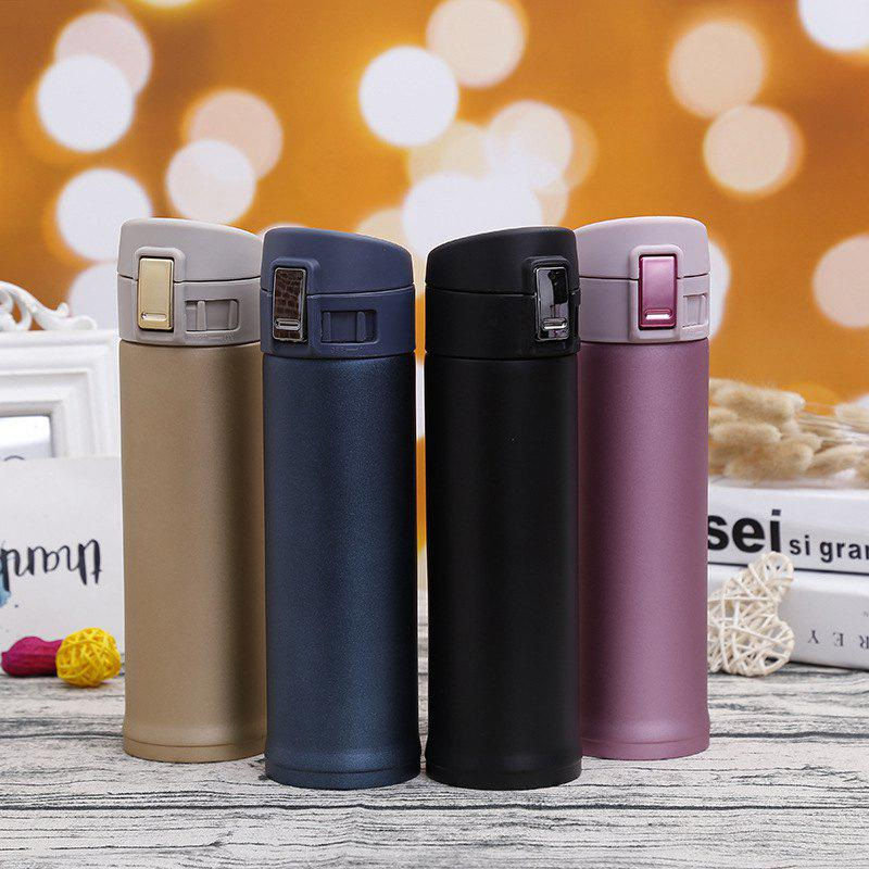 Buy Creative Stainless Steel Mug Outdoor Sports Bouncing Cup Portable Car Cup Gift Logo