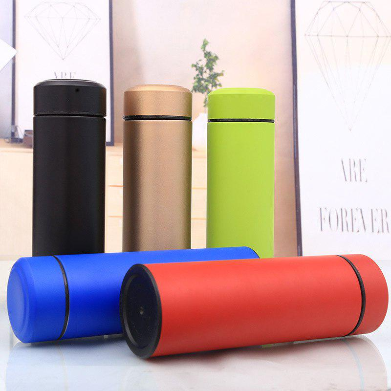 Cheap Hot Sale Explosion-proof Stainless Steel Vacuum Flask Business Straight Cup Daily Necessities Double-layer Gift Car Water Cup Logo