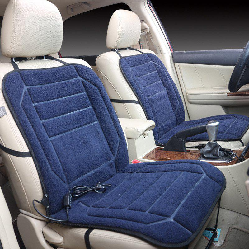 Shops Car Heating Cushion 12V Heating Seat Cover Car Electric Heating Seat Office Winter Wool Velvet