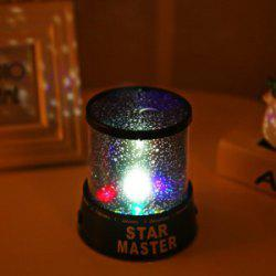 LED Star Sky  Projector Colorful Night Light Sleep Light Creative Gift Novelty Hot -