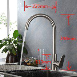 Kaiping SUS304 Stainless Steel Hot And Cold Water Faucet Sink Pull Kitchen Faucet -