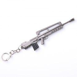 Game Fortress Night FORTNITE M4 Rifle Pickaxe Taro Skin Weapon Model Keychain -