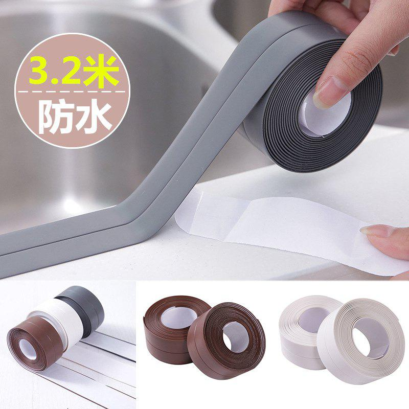 Kitchen And Bathroom Waterproof And Mildew Tape Kitchen Seams Beauty Seam Moistureproof Waterproof Bathroom Toilet Gap W