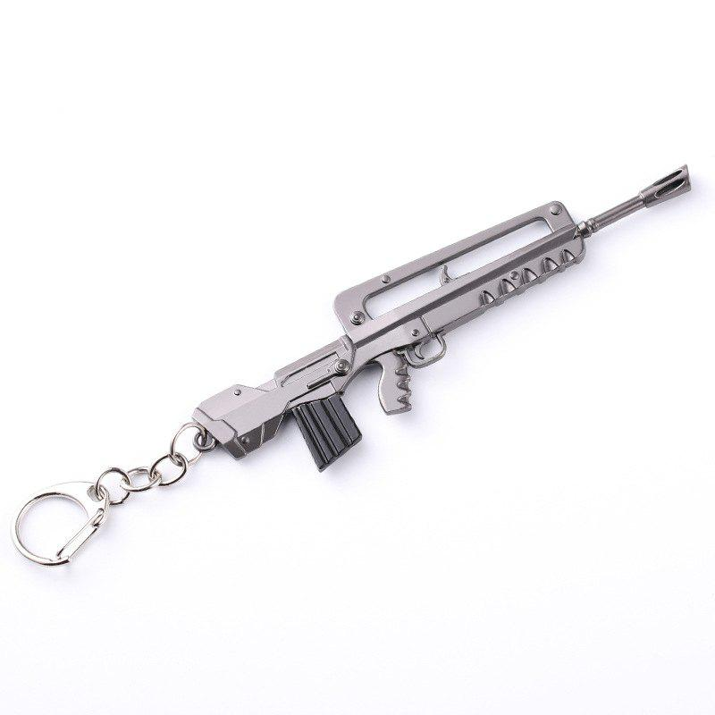 Affordable Game Fortress Night FORTNITE M4 Rifle Pickaxe Taro Skin Weapon Model Keychain