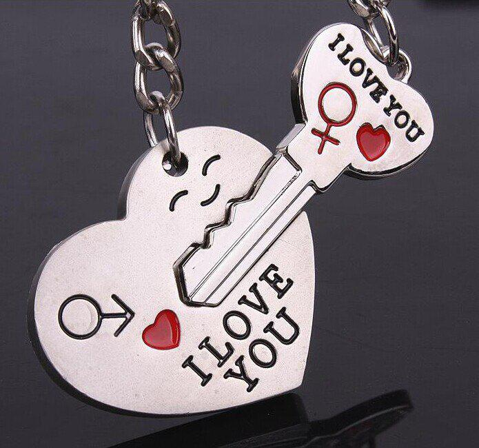 Fancy Creative Couple Keychain Student Gifts