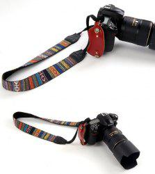 Nostalgic Retro Ethnic Style Wide Shoulder Strap SLR Camera With Straps Fine Stripe Strap -