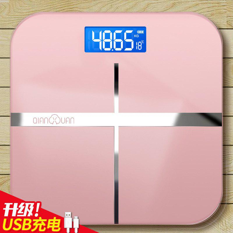 New Thousands Of Rechargeable Electronic Weighing Scales Accurate Household Health Scales Human Scales Adult Weight Loss Weighing Device