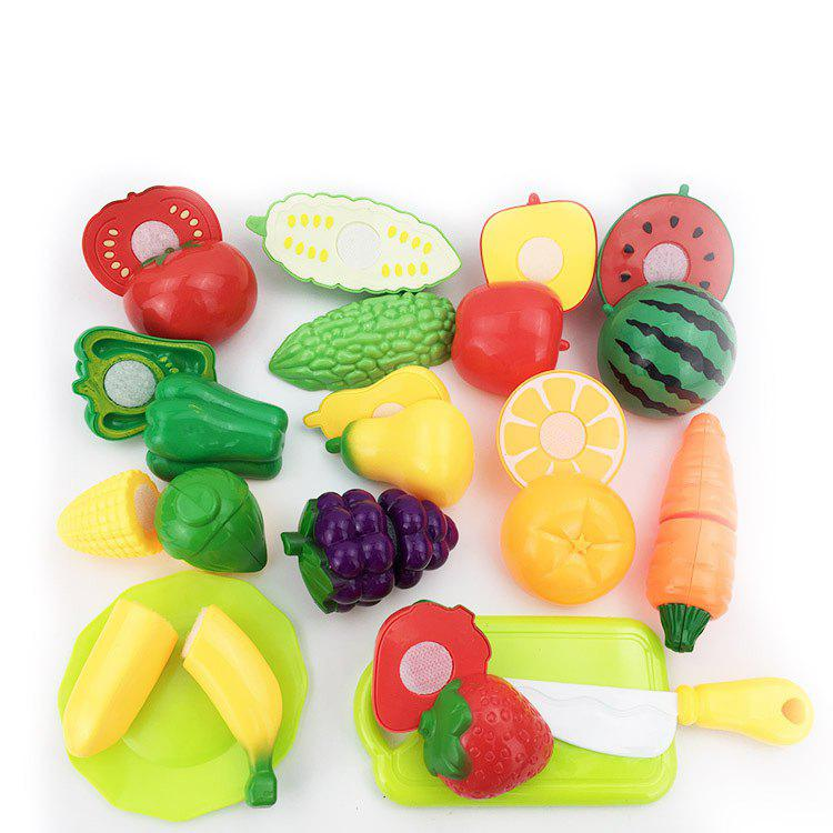 Affordable Fruit Cutlery Toy Cut Fruits Vegetables Set