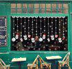Christmas Decoration Santa Wall Stickers Christmas Gift Glass Window Decoration Snowflake Ornaments Sticker 0995 -