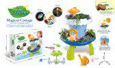 Fairy Garden Huts With Light Music Planting Pots Magic Cottage Play House Toys -