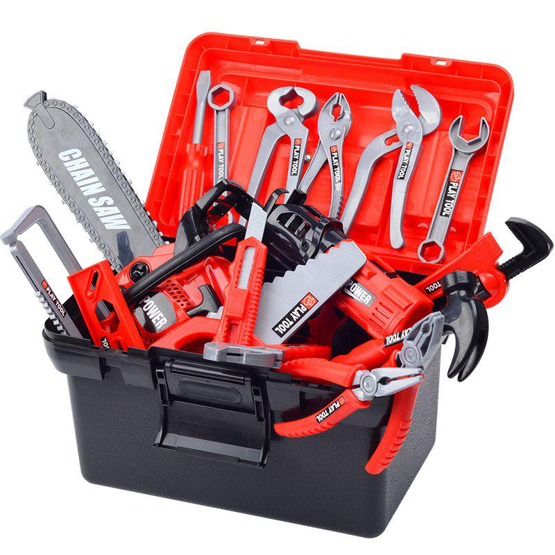 f77116f39 Shop Children's Toolbox Set Baby Simulation Repair Tool Electric Drill  Screwdriver Repair House Toy Boy
