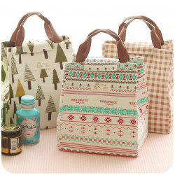 New Portable Insulation Lunch Bag Waterproof Canvas Bag Insulation Lunch With Rice Bag Insulation Bag Lunch Box -