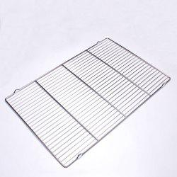 Stainless Steel Barbecue Net Cake Bread Cold Cooling Rack Cooling Rack Baking Drying Rack 60*40cm -