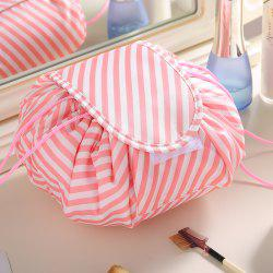 Lazy DrawString Cosmetic Bag Beam Storage Bag Travel Large-capacity Wash Bag -