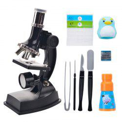 Primary School Children Science Experiment Educational Toys Times Microscope Set -