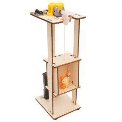 Elevator Lift Technology Small Production DIY Small Invention Small and Medium-sized Teaching Toy Laboratory Equipment -