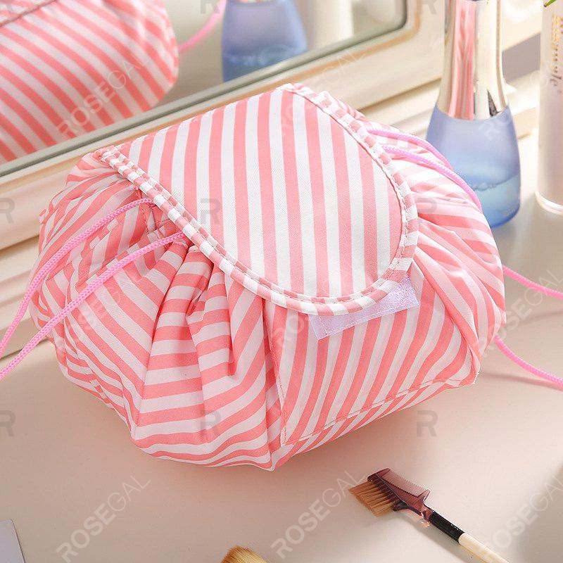Fancy Lazy DrawString Cosmetic Bag Beam Storage Bag Travel Large-capacity Wash Bag