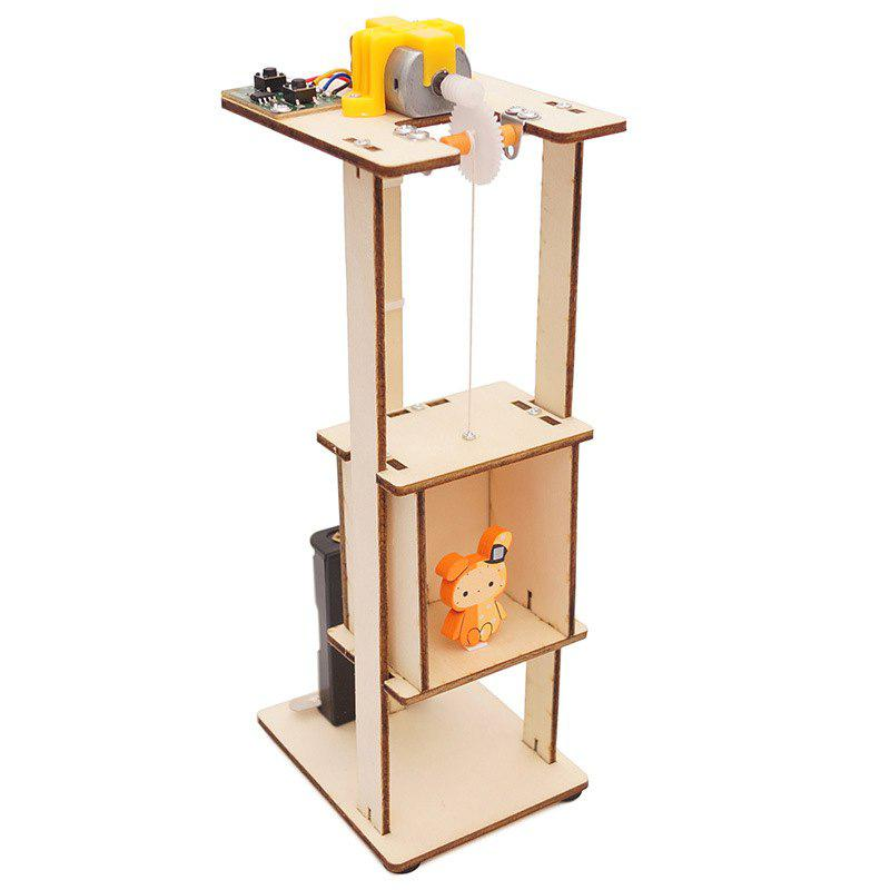 Outfit Elevator Lift Technology Small Production DIY Small Invention Small and Medium-sized Teaching Toy Laboratory Equipment