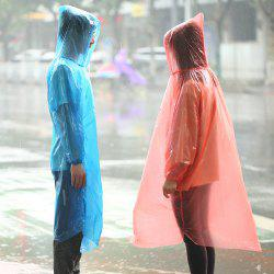 Thicken Portable Outdoor Disposable Raincoat Adult Travel Travel Raincoat Set Mountaineering Drifting Men And Women Poncho -