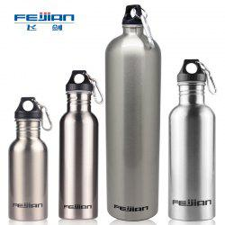 Feijian Single Layer Stainless Steel Outdoor Sports Bottle Bicycle Riding Cup Summer Cup -