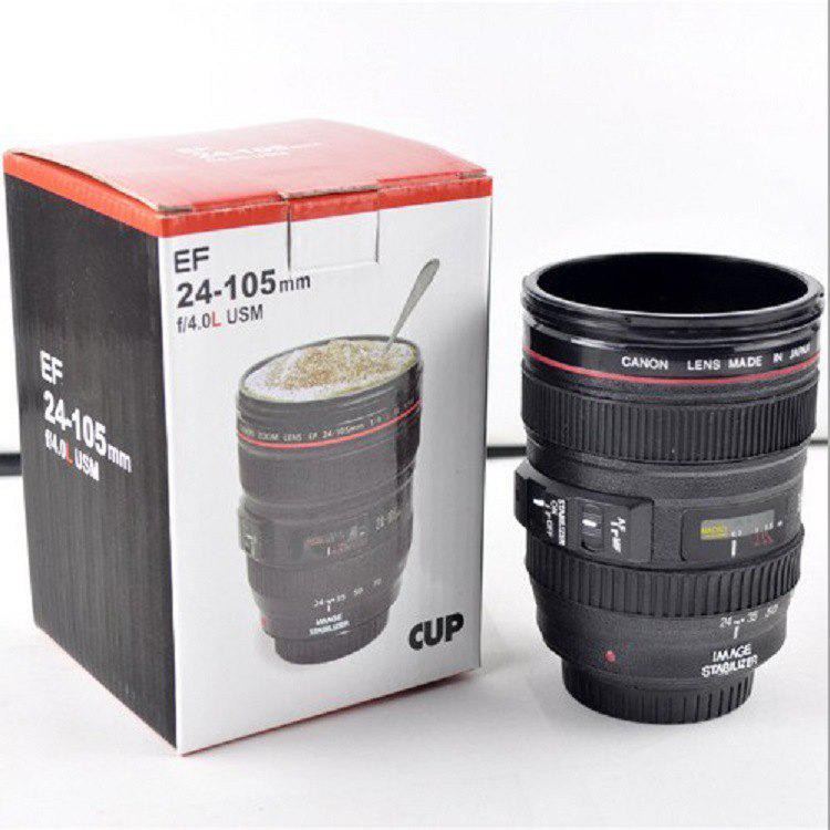 Creative Canon Lens Cup Hand Cup Coffee Cup Second Generation Camera Cup
