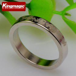 Mini Pattern Small Magnetic Ring Magic Ring Magnet Ring Strong Magnetic Magnetic Ring Magic Props -