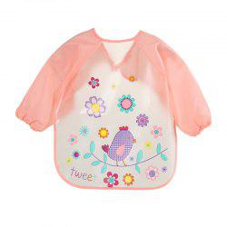 Children's Waterproof Long-sleeved Food Clothes Baby Bib -